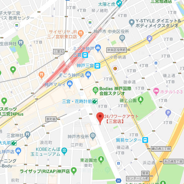 24/7ワークアウト三宮店