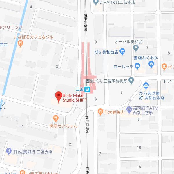 福岡のパーソナルトレーニングジム「シフト(SHIFT)」の店舗情報